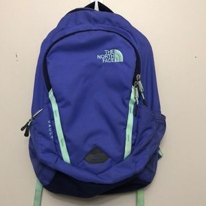 The North Face Vault purple backpack